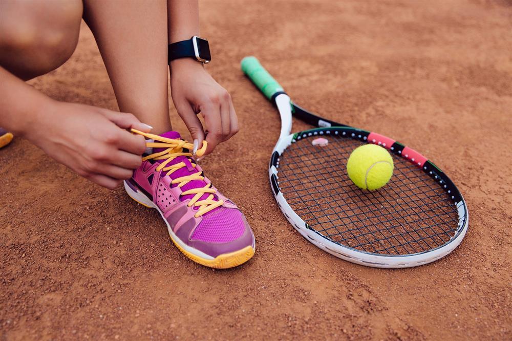 Pendentif ange gardien sur Carte pour joueur de tennis Ange tennis